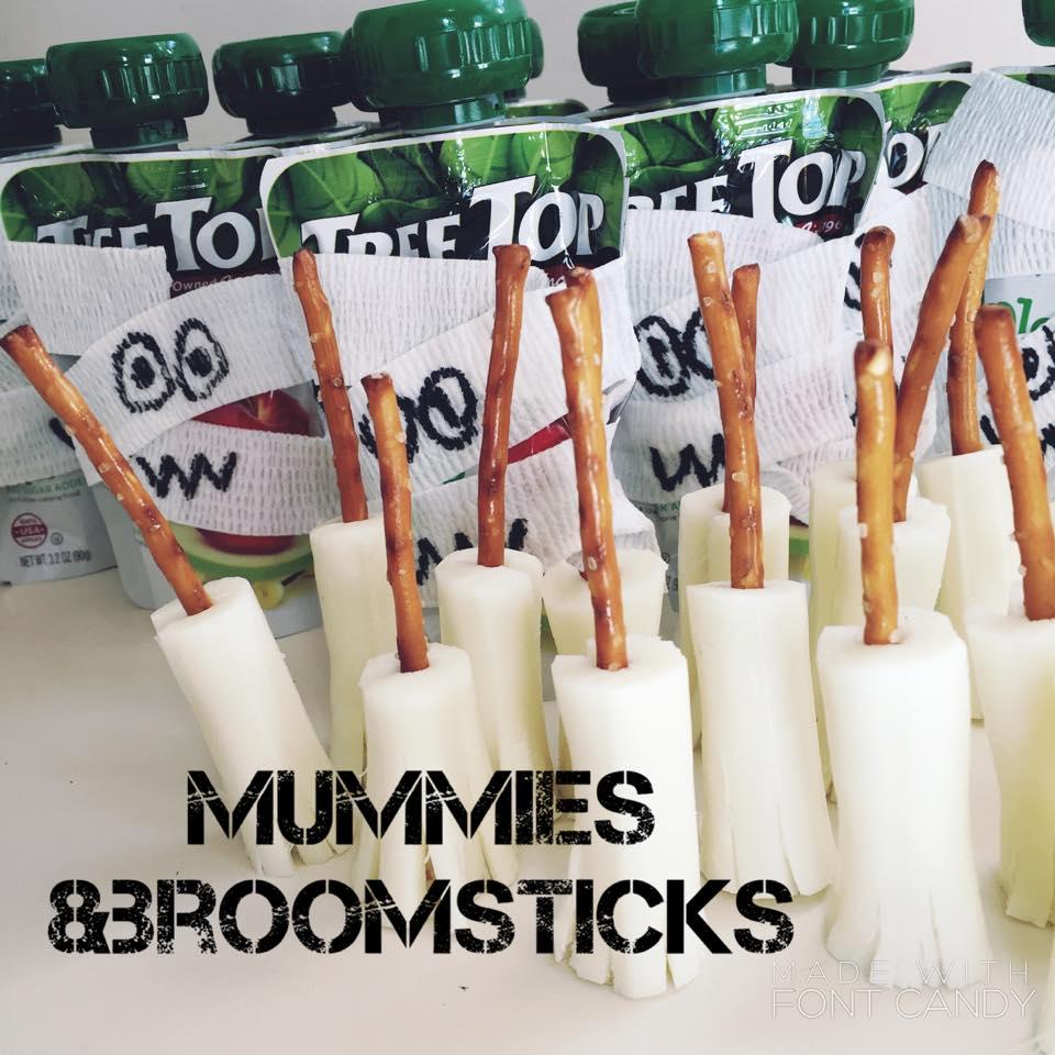mummies and broomsticks