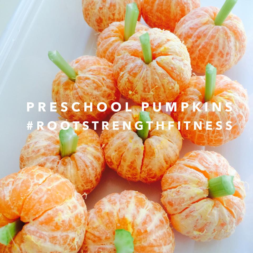 preschool pumpkins